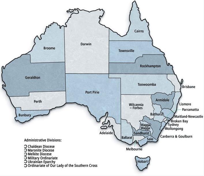Australian Catholic Church Structure Catholic Education Diocese