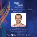 Spirit of Catholic Education Awards 2017