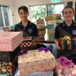 "Spreading Joy with a ""Shoe Box Surprise"""